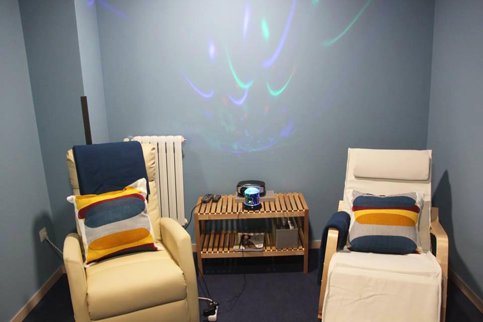 Sala d'estimulació multisensorial Snoezelen