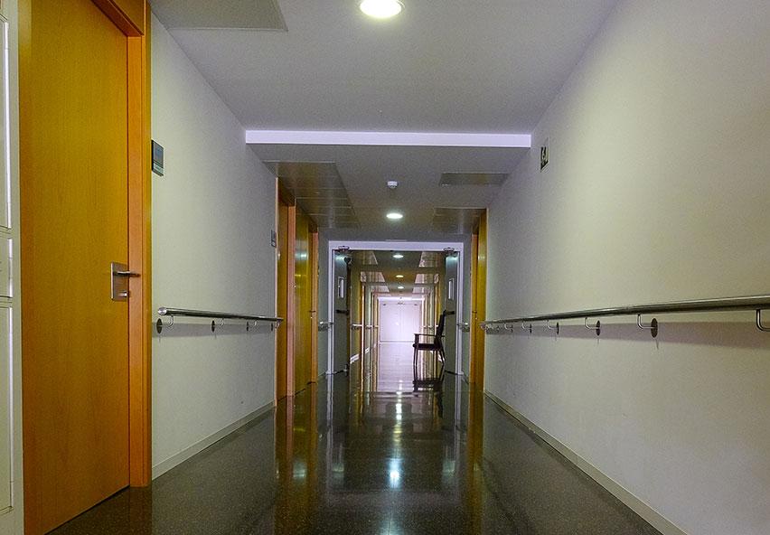 Interior residència Mas Piteu