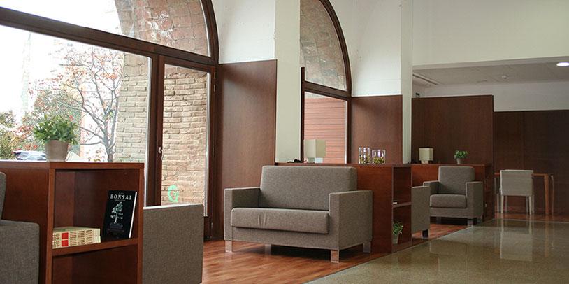 Interior residència zones comuns
