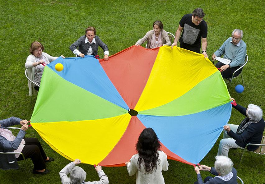 Residents fen activitats al jardí