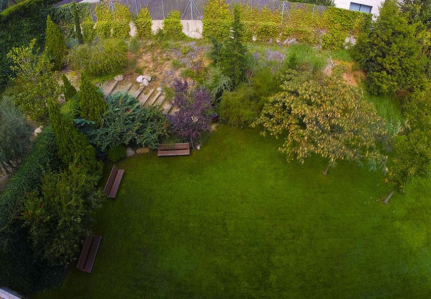 Foto del jardí