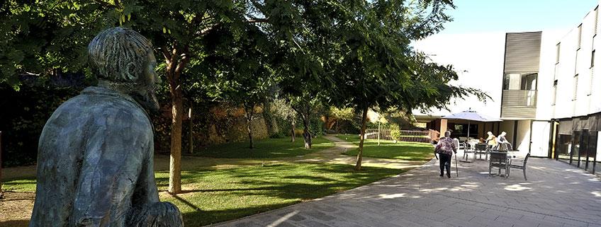 Exterior Mas Piteu jardí