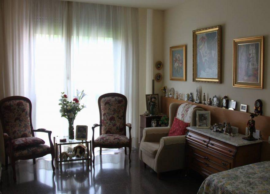habitaciones en residencias para personas mayores