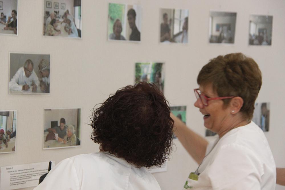 Exposició del projecte Acollim a Mas d'Anglí
